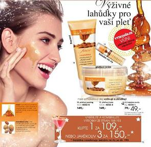 Medová kosmetika Avon katalog